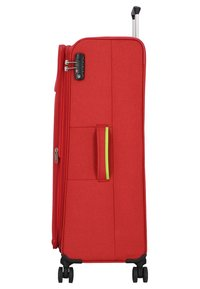 Hardware - REVOLUTION - Wheeled suitcase - coral red - 3