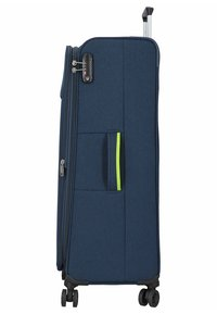 Hardware - REVOLUTION - Wheeled suitcase - dark blue - 2