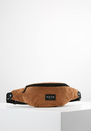 ONE BUM BAG - Ledvinka - tan