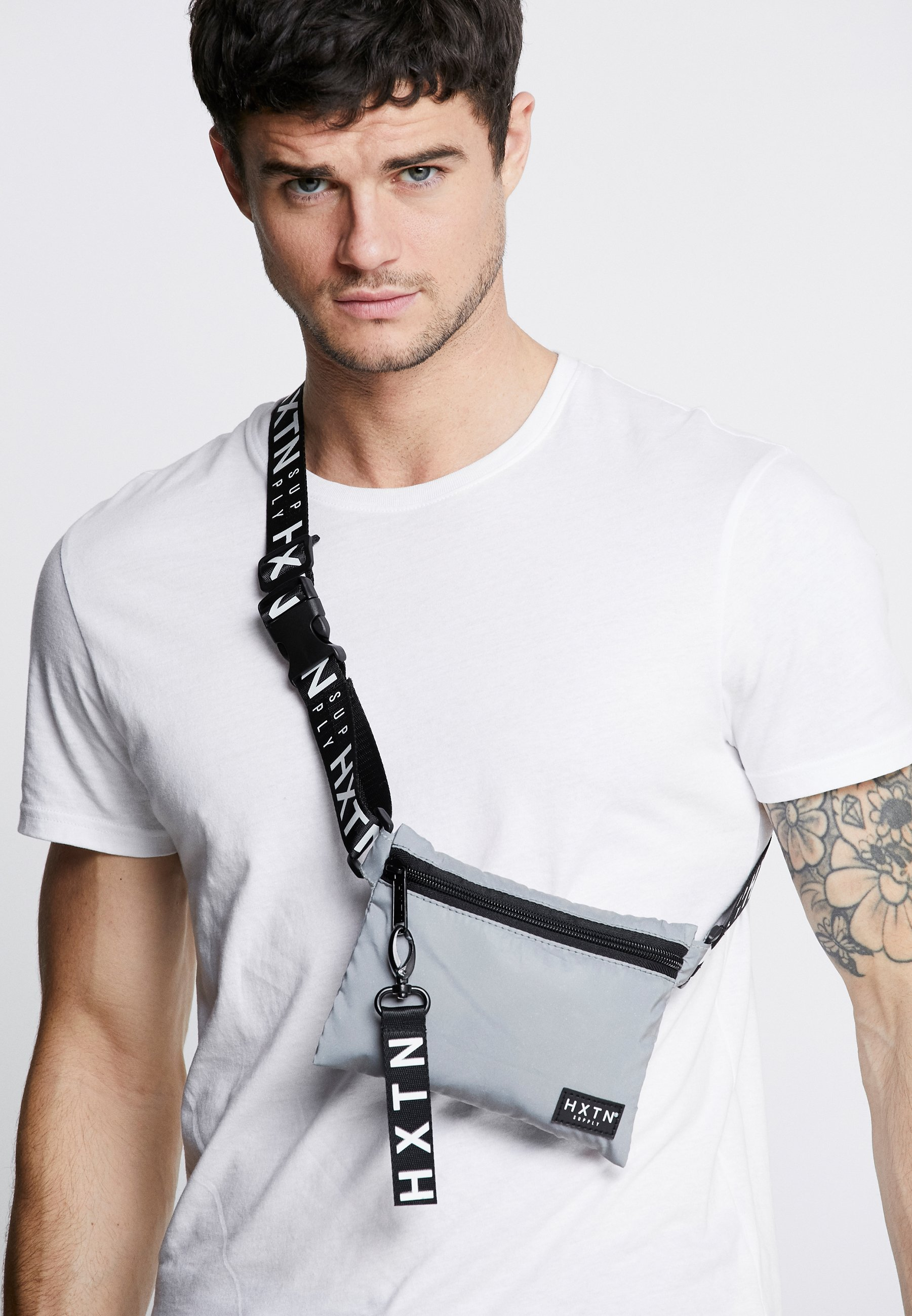 HXTN Supply PRIME CROSSBODY - Skulderveske - grey