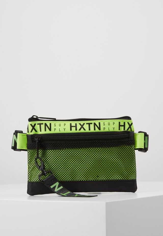 PRIME DELUXE CROSSBODY - Schoudertas - neon yellow