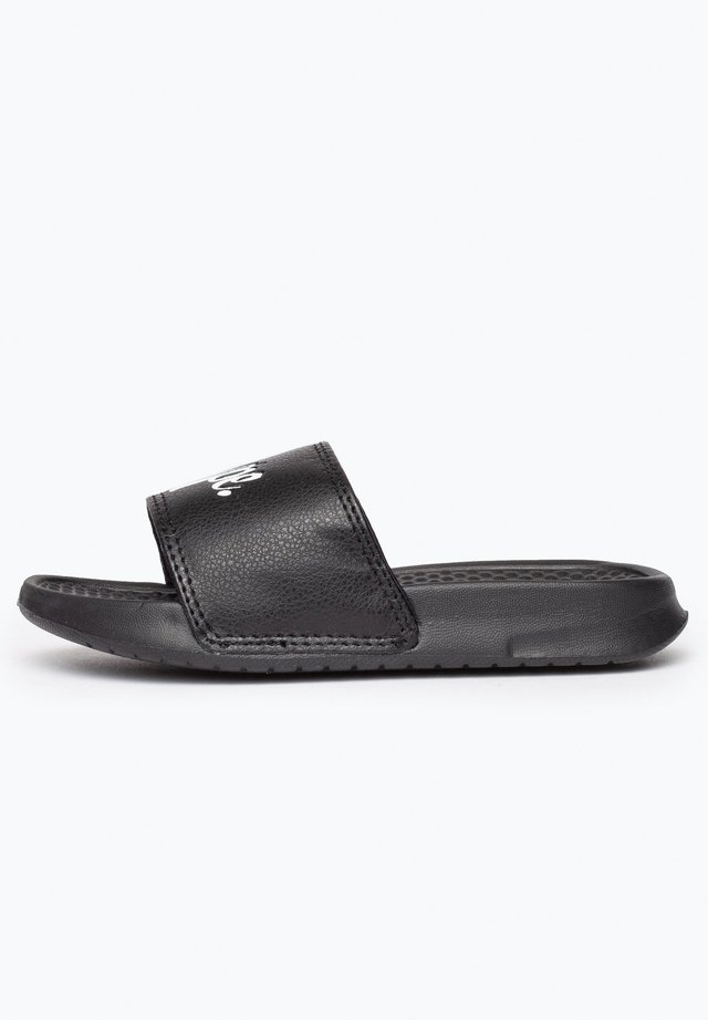 Pool slides - black
