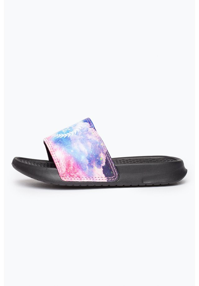 SUNSET SPACE - Pool slides - black