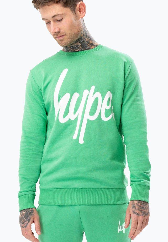 SCRIPT - Sweatshirt - green
