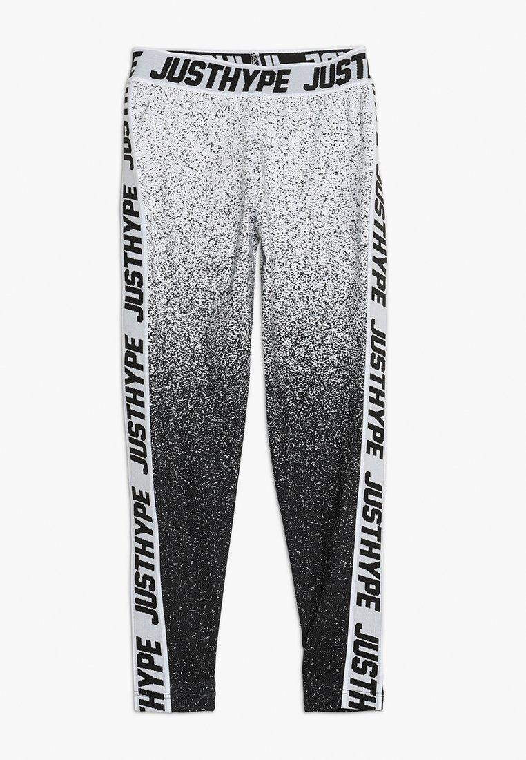 Hype - KIDS SPECKLE FADE TAPE - Leggings - Hosen - black/white