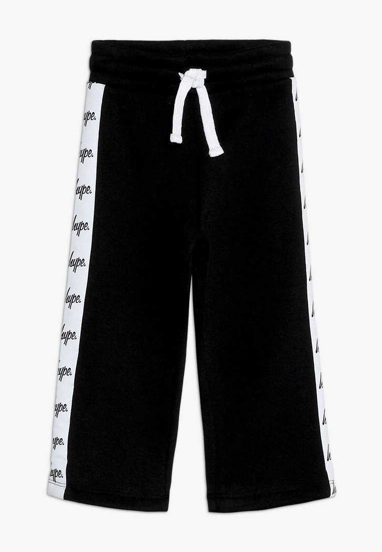 Hype - KIDS CULOTTES JUST HYPE TAPE - Tracksuit bottoms - black/white
