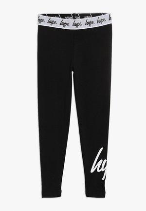 KIDS SCRIPT - Leggings - Trousers - black