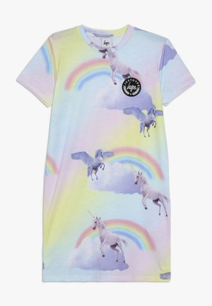 TEE DRESS RAINBOW UNICORN - Sukienka z dżerseju - multicoloured