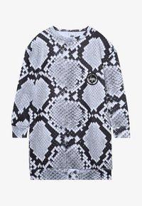 Hype - KIDS DRESS MONO SNAKE - Day dress - grey - 2
