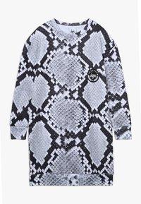 Hype - KIDS DRESS MONO SNAKE - Day dress - grey - 0
