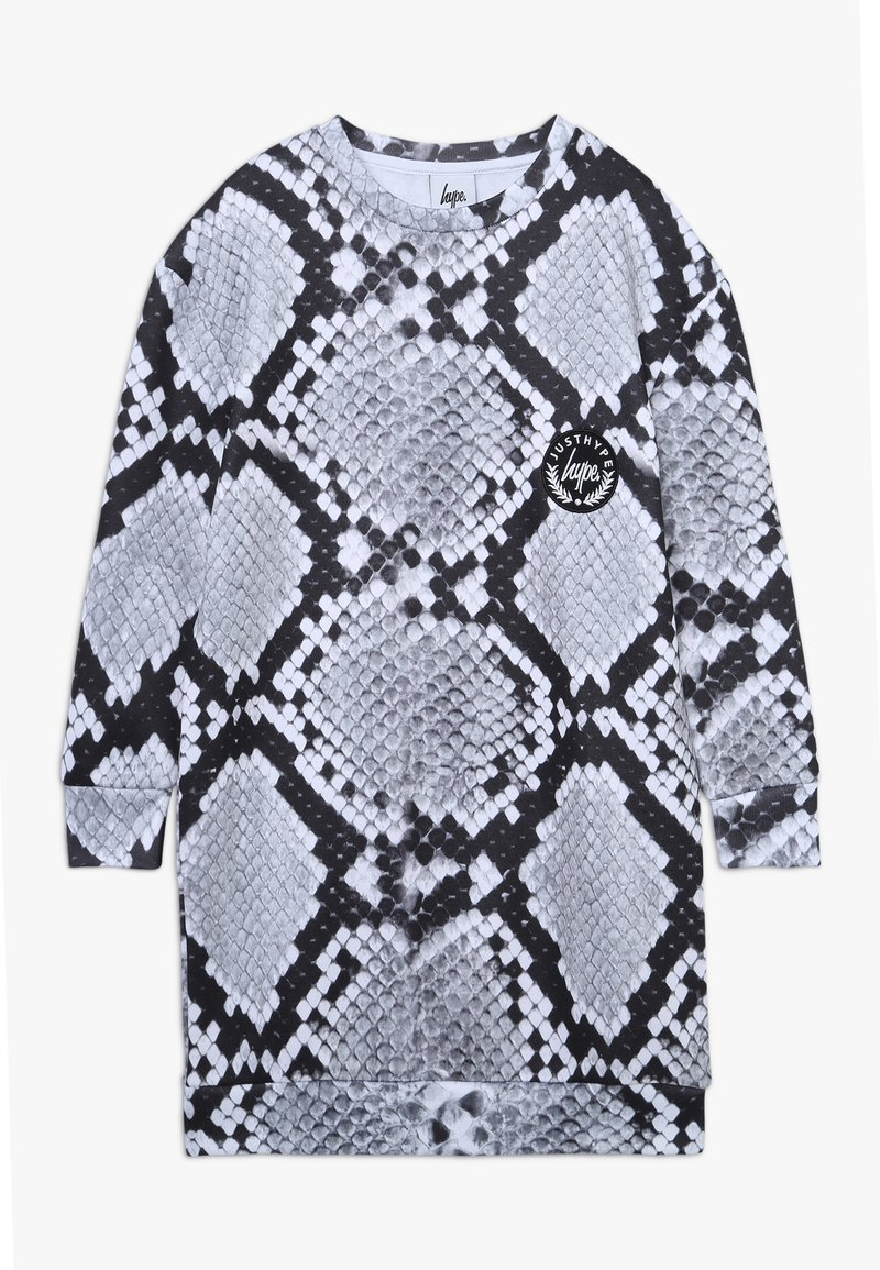 Hype - KIDS DRESS MONO SNAKE - Day dress - grey
