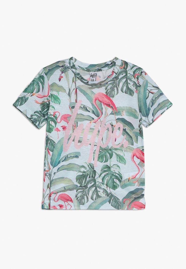 Hype - KIDS FLAMINGO PARADISE SCRIPT - T-shirts print - multicolor