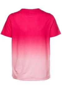 Hype - GIRLS - T-shirts print - burgundy fade - 1