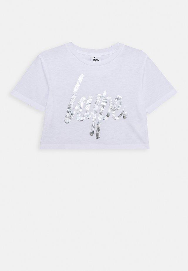 GIRLS - Camiseta estampada - white