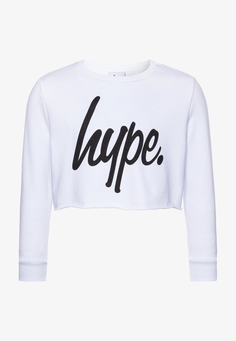 Hype - GIRLS CROP  - Sweatshirt - white