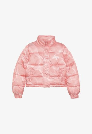 KIDS CROP PUFFER JACKET POOL - Light jacket - pink/white