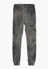 Hype - KIDS ACID WASH - Pantalones deportivos - black - 0