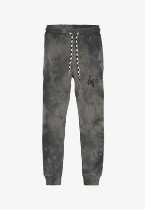 KIDS ACID WASH - Pantalones deportivos - black