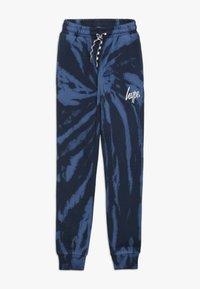 Hype - KIDS TIE DYE - Pantalones deportivos - blue - 0