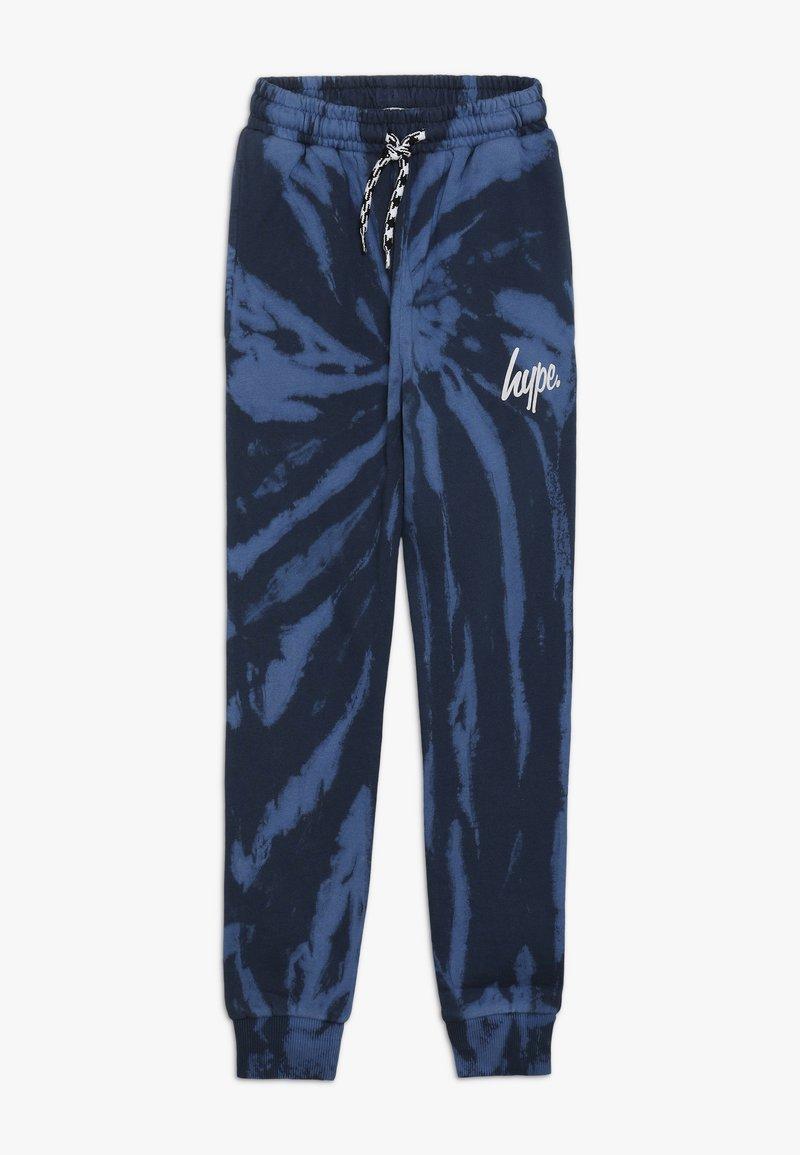 Hype - KIDS TIE DYE - Pantalones deportivos - blue
