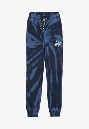 KIDS TIE DYE - Pantalones deportivos - blue