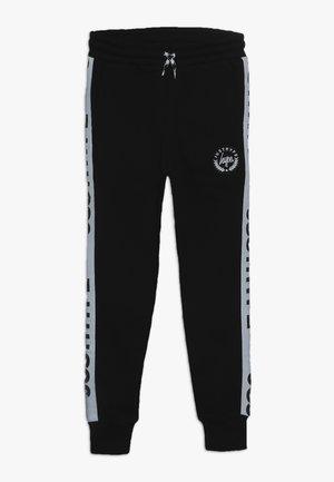 KIDS SPECKLE TAPE - Teplákové kalhoty - black