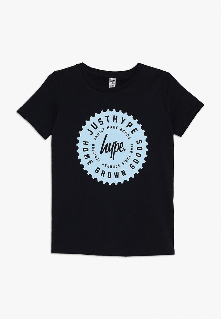 Hype - KIDS LOGO - Print T-shirt - navy/light blue
