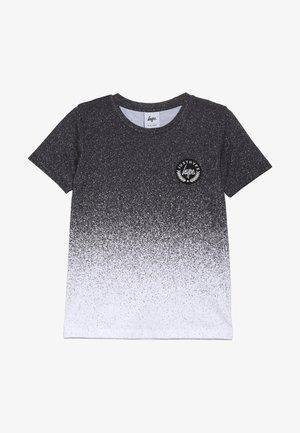 KIDS SPECKLE FADE - T-shirt med print - black/white