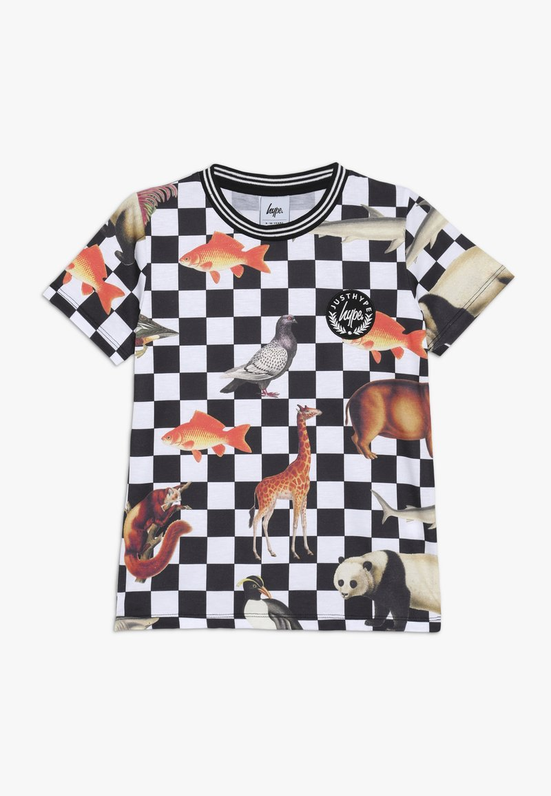 Hype - ANIMAL CHECK - T-shirt imprimé - multi