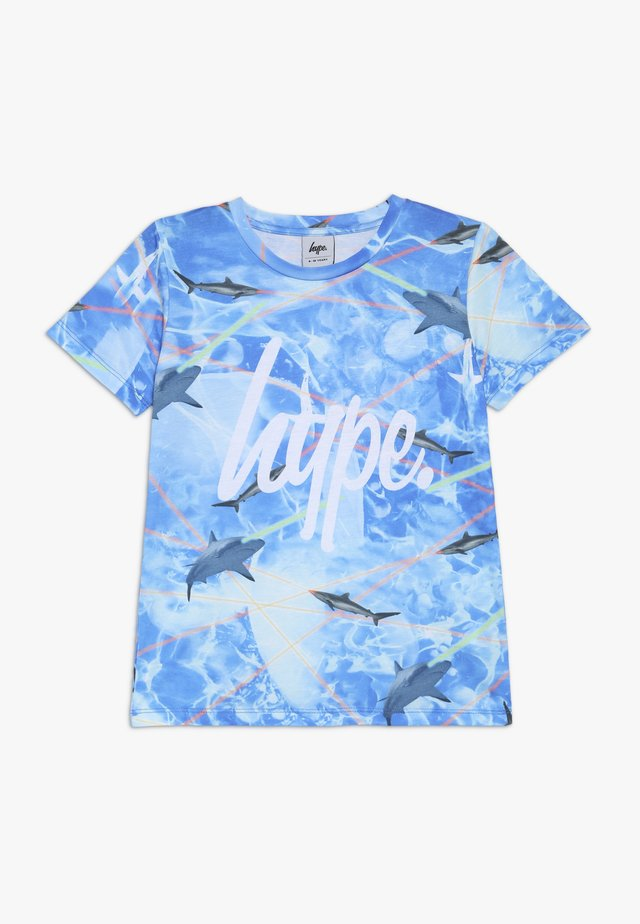 KIDS LASER SHARK - Camiseta estampada - multi