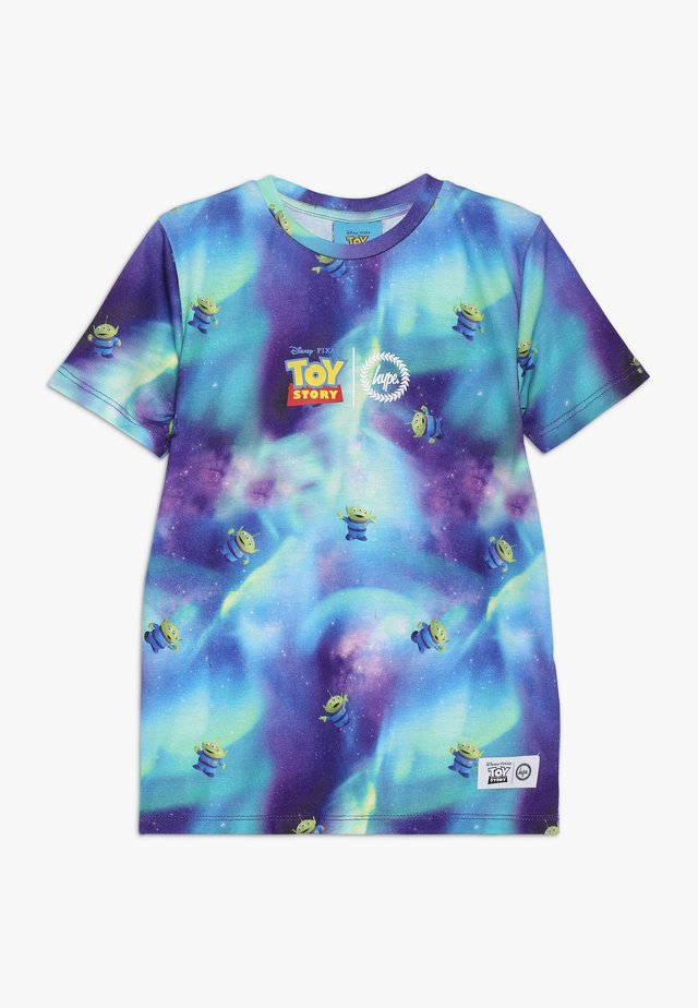 KIDS ALIEN GALAXY - Camiseta estampada - multi