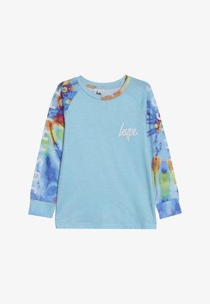 RAGLAN TEE - Langærmede T-shirts - blue