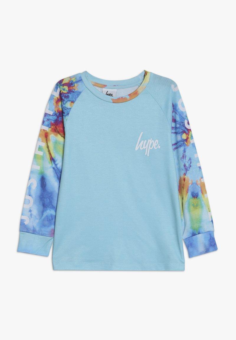 Hype - RAGLAN TEE - Langarmshirt - blue