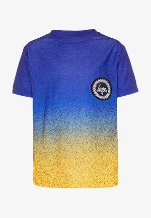 BOYS - Print T-shirt - blue/yellow