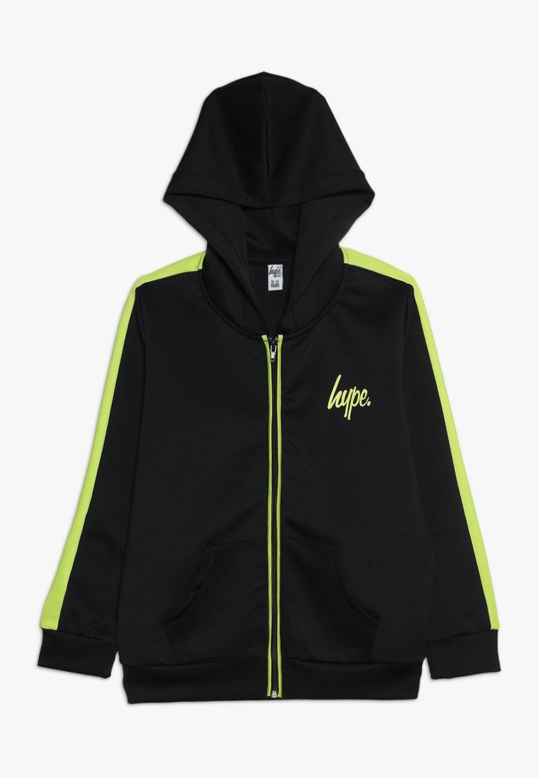 Hype - KIDS TRACK JACKET MINI SCRIPT STRIPE - Vest - navy/lime green
