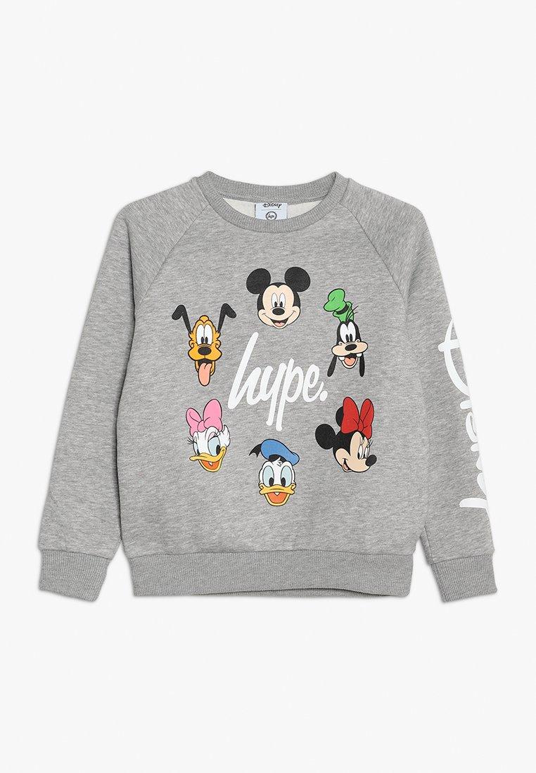 Hype - DISNEY CAST SCRIPT KIDS CREWNECK - Sweatshirt - grey