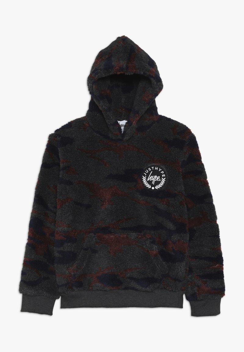 Hype - KIDS OVERHEAD HOODIE CAMO SHERPA - Fleece jumper - multi