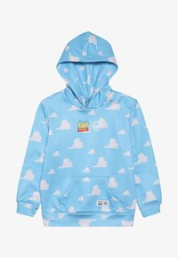 Hype - KIDS OVERHEAD HOODIE CLOUDS - Jersey con capucha - blue - 3
