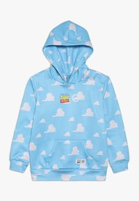 Hype - KIDS OVERHEAD HOODIE CLOUDS - Jersey con capucha - blue - 0