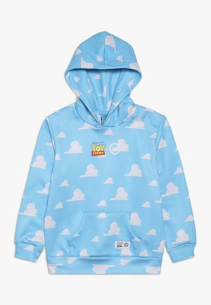 KIDS OVERHEAD HOODIE CLOUDS - Sweat à capuche - blue