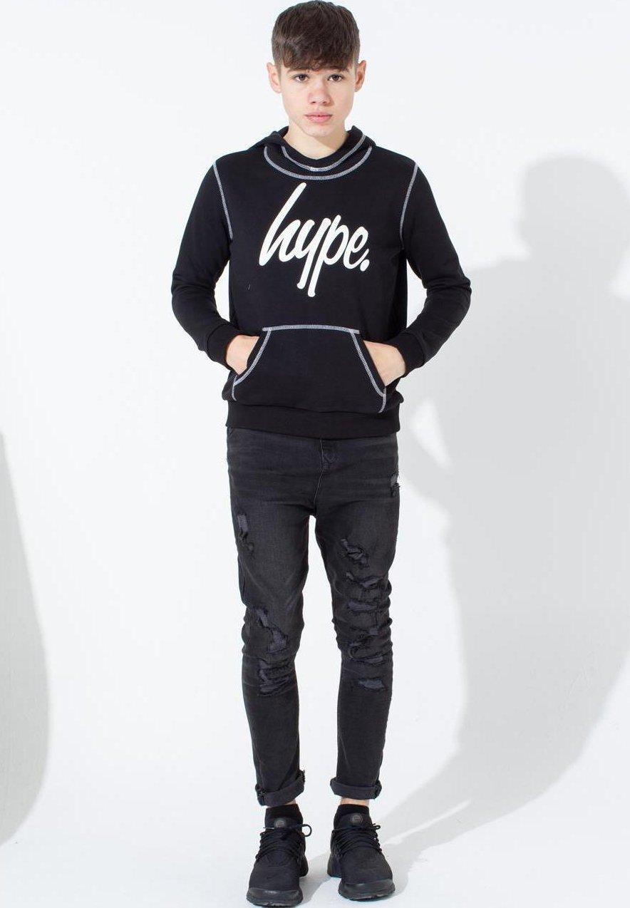 Große Förderung Hype STITCH - Kapuzenpullover - black | Damenbekleidung 2020