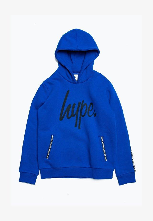 TAPE - Hoodie - blue/black