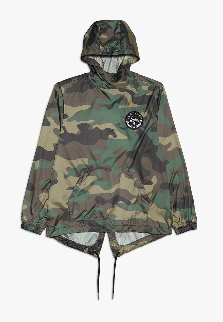Hype - CAMO CREST KIDS FISHTAIL JACKET - Übergangsjacke - green