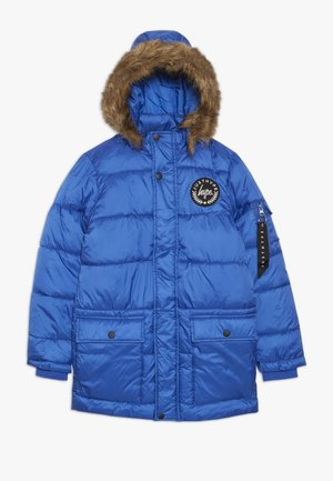 KIDS EXPLORER JACKET CREST - Parkatakki - blue