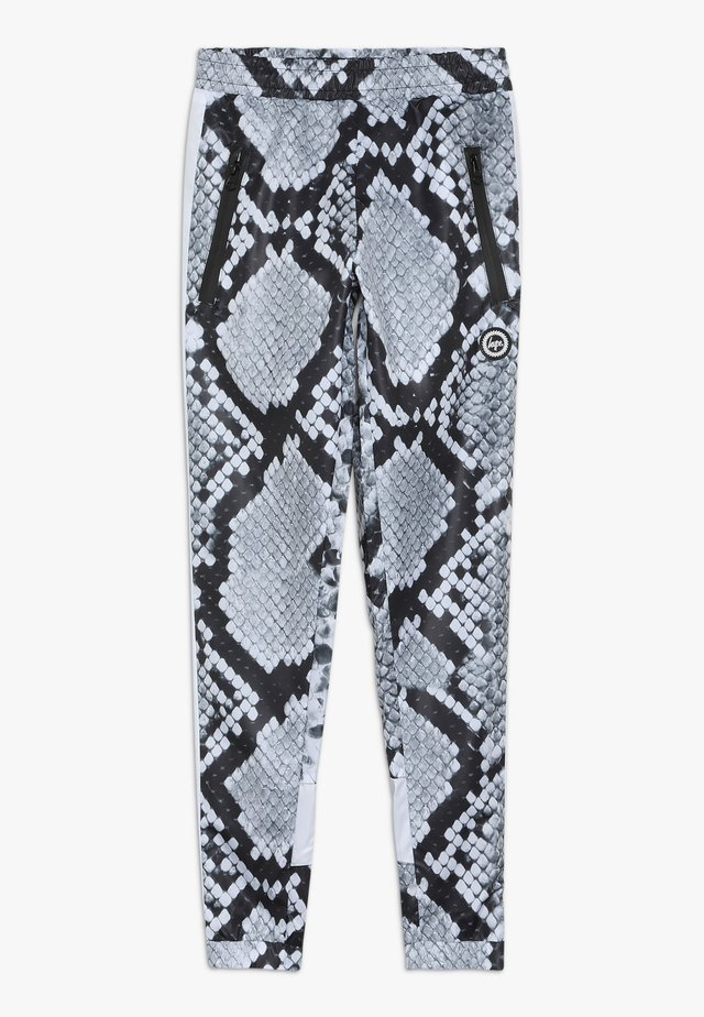 KIDS RUNNING BOTTOM MONO SNAKE - Träningsbyxor - grey