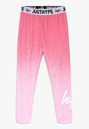 KIDS SPECKLE FADE - Leggingsit - pink