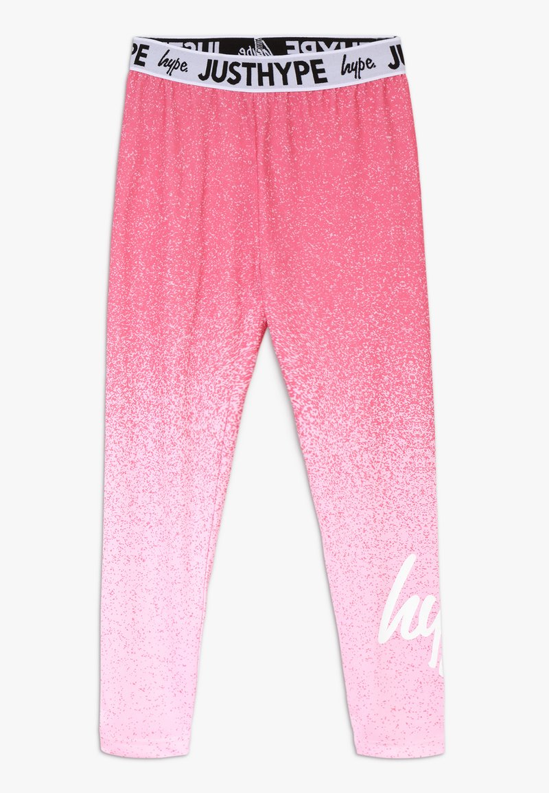 Hype - KIDS SPECKLE FADE - Leggings - Trousers - pink