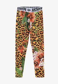 Hype - KIDS JUNGLE - Legginsy - multi - 2
