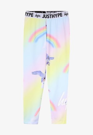 KIDS RAINBOW UNICORN - Leggings - multi