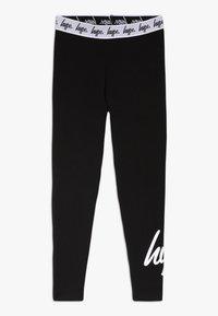 Hype - SCRIPT - Leggings - Trousers - black - 0